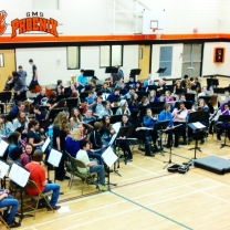 mass band at sms