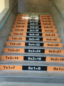 SMS math stairs