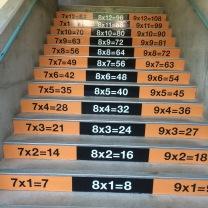 SMS math stairs