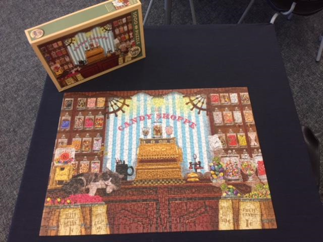 candy shop puzzle completed